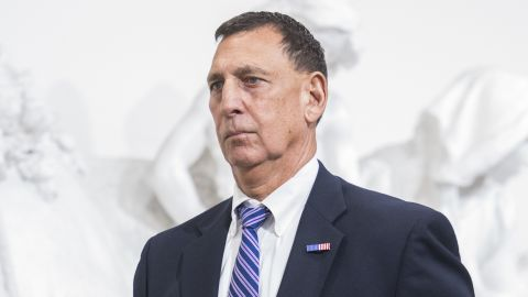 UNITED STATES : Rep. Frank LoBiondo, R-N.J., makes his way to a meeting of the House Republican Conference where Speaker Paul Ryan, R-Wis., announced the vote for American Health Care Act had been canceled, March 24, 2017. (Photo By Tom Williams/CQ Roll Call)  (CQ Roll Call via AP Images)
