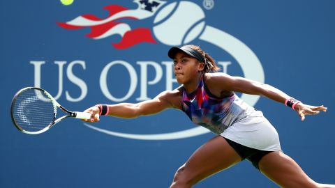 Last year Gauff became the youngest player ever to reach a US Open junior final when she finished runner-up.