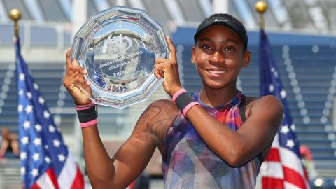 """Gauff is subject to the sport's """"age eligibility rule,"""" which forms part of the player development program on the women's WTA Tour, limits the number of tournaments teenagers can play, to prevent early age burn-out."""