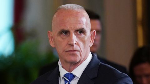Director of Oval Office operations Keith Schiller attends the signing ceremony for the Department of Veterans Affairs Accountability and Whistleblower Protection Act of 2017, on June 23, 2017, in the East Room of the White House in Washington, DC.  (MANDEL NGAN/AFP/Getty Images)