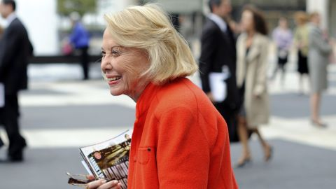 """Longtime gossip columnist <a href=""""http://www.cnn.com/2017/11/12/us/liz-smith-obit/index.html"""" target=""""_blank"""">Liz Smith</a>, who started her column at the New York Daily News in 1976, died on November 12, according to the newspaper. She was 94. Known affectionately as the """"the Grand Dame of Dish,"""" Smith's legendary work included a chronicle of Donald and Ivana Trump's divorce, which made front-page news."""