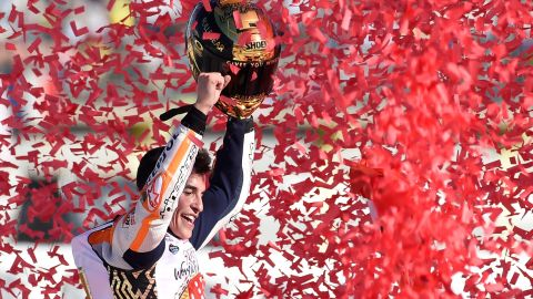 Spain's Marc Marquez has dominated MotoGP since winning his maiden premier class title in 2013.