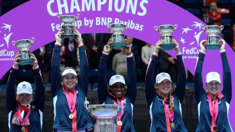 US have now won a record 18th Fed Cup title