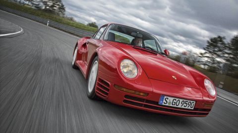 """There's clearly still a market for this iconic car -- a 959 Sport sold for a cool <a href=""""https://www.highsnobiety.com/2017/02/15/porsche-959-sport-price/"""" target=""""_blank"""" target=""""_blank"""">$2.08m </a>at auction in February 2017. Launched in 1986, the non-sport version had a relatively large run of 292 units compared to some record breakers, and a top speed of 196mph. The Sport version was limited to 29 units, and when tested by<a href=""""https://www.auto-motor-und-sport.de/fahrberichte/ferrari-f40-gegen-porsche-959-nonplusultra-supersportler-der-80er-9554420.html"""" target=""""_blank"""" target=""""_blank""""> Auto, Motor und Sport </a>magazine clocked 339kmph (210.7mph)."""