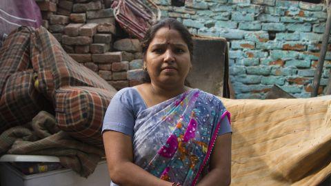 Nimrita Sharma is a teacher at a daycare center in Delhi's Ravidass slum.