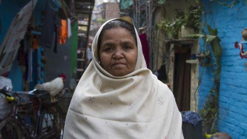 Zaheda Begum, Ravidass Slum resident
