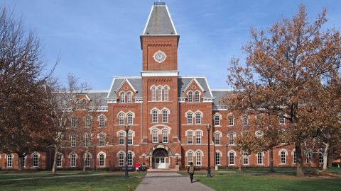 college building in fall; Shutterstock ID 238756393; Job: CNN Photos; Show: ; Producer: ; Add'l Business Unit #: