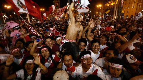 """Such were the magnitude of the celebrations in Lima when Jefferson Farfan put Peru 1-0 up, an <a href=""""http://edition.cnn.com/2017/11/16/football/world-cup-russia-2018-qualification-lionel-messi-neymar-brazil-england-argentina/index.html"""">earthquake detector in the city was activated</a> at the exact moment of the goal."""