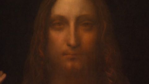 "Da Vinci's ""Salvator Mundi"" was sold at auction in 2017 for over $450 million"