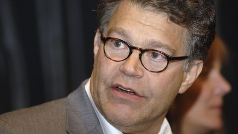 """NEW YORK - SEPTEMBER 13:  Comedian Al Franken answers questions after the the New York premiere of """"Al Franken: God Spoke"""" at IFC Center on September 13, 2006 in New York City.  (Photo by William D. Bird/Getty Images)"""