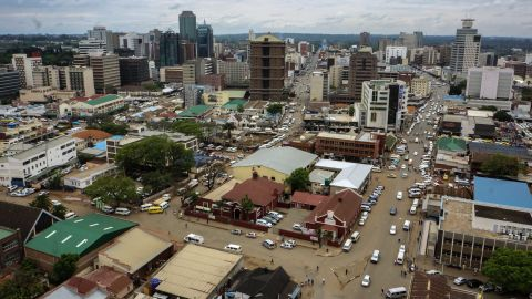 An overview of Harare on November 16.