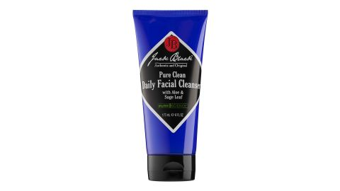 """<strong>J: Jack Black Pure Clean Facial Cleanser ($19; </strong><a href=""""https://www.sephora.com/product/pure-clean-daily-facial-cleanser-P171300?skuId=973628&icid2=bestsellers:p171300"""" target=""""_blank"""" target=""""_blank""""><strong>sephora.com</strong></a><strong>) </strong>"""
