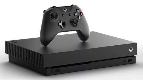 """<strong>X: Xbox One X 1TB Console ($499; </strong><a href=""""https://www.microsoft.com/en-us/store/d/xbox-one-x/8NQ33JVV1S9V?cat0=devices&icid=XboxCat_Hero1_XboxOneX_Pre_Order_092417"""" target=""""_blank"""" target=""""_blank""""><strong>microsoft.com</strong></a><strong>) </strong>"""