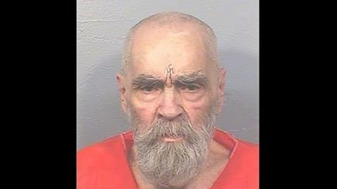 Mug shot from 8/14/17 of Charles Manson from the California Dept. of Corrections.