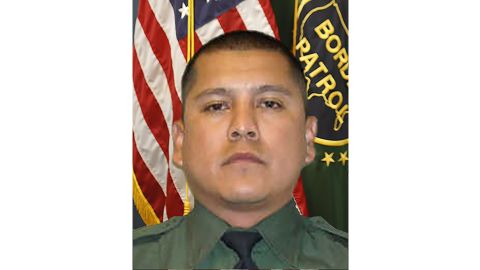 US Customs and Border Patrol Agent Rogelio Martinez