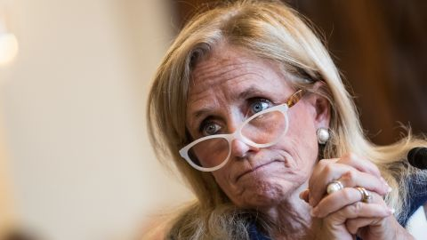 WASHINGTON, DC: Rep. Debbie Dingell (D-MI), chairman of the health subcommittee, testifies during a House Veterans' Affairs Committee hearing, September 26, 2017 in Washington, DC. (Photo by Drew Angerer/Getty Images)