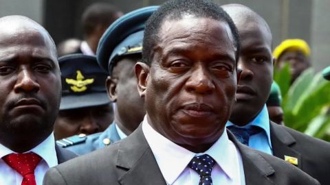 Zimbabwean President Emmerson Mnangagwa has vowed free and fair elections.