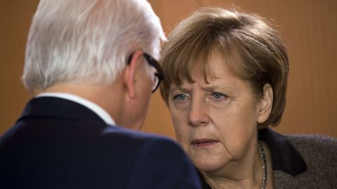 Despite their different party allegiances, Steinmeier has worked closely with Chancellor Angela Merkel since 2005 and they share a pragmatic, cautious approach to politics.