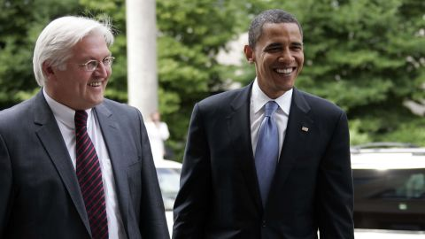 As German Foreign Minister, Steinmeier supported Barack Obama's bid for the presidency and the two men worked closely together. Steinmeier has spoken much less favorably about President Trump.