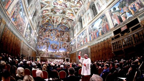 What can be more Christmas than spending part of the holiday at Vatican City? You can see St. Peter's Basilica and the Sistine Chapel, pictured here.