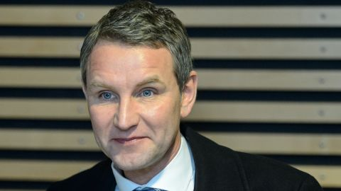 Björn Höcke caused controversy with his comments about the Holocaust in January.
