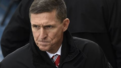 WASHINGTON, DC - JANUARY 20: Retired Army Lt. General Michael Flynn arrives for the Presidential Inauguration of Donald Trump at the US Capitol on January 20, 2017 in Washington, DC. Flynn is appointed National Security Advisor to Trump. Donald J. Trump will become the 45th president of the United States today.  (Photo by Saul Loeb - Pool/Getty Images)