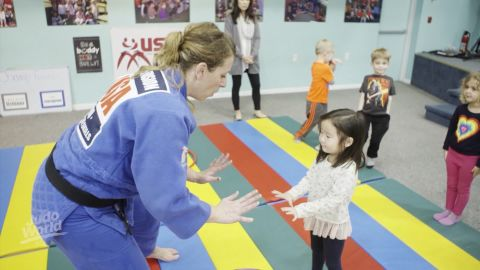 """A Team USA athlete at the 2010 and 2011 World Championships, <a href=""""https://edition.cnn.com/2017/12/15/sport/toni-geiger-combat-kids-exercise-health/index.html"""">Geiger</a> is using the life lessons and """"moral code"""" judo taught her to educate a younger generation. """"More children are leaving sport than ever before,"""" she told CNN. """"Our mission is to inspire as many children as humanly possible to believe in themselves through sport and physical activity.""""<br />"""