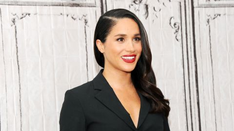 """<a href=""""http://edition.cnn.com/2017/11/27/europe/meghan-markle-profile/index.html"""" target=""""_blank"""">Meghan Markle</a> visits AOL Studios in New York in March 2016. Markle, a former actress, is best known for her role as Rachel Zane in the hit TV series """"Suits."""" Her <a href=""""http://edition.cnn.com/2017/11/27/europe/prince-harry-meghan-markle/index.html"""" target=""""_blank"""">engagement to Britain's Prince Harry</a> was announced in November."""