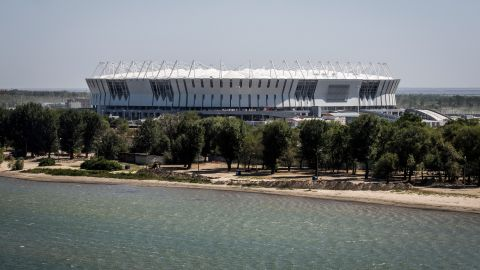 <strong>Rostov Arena World Cup schedule: </strong>Group stage, last 16<br /><strong>Legacy:</strong> As one of the first major projects built on the southern bank of the Don River, architects hope the 45,000-seater stadium will attract a flow of people and investment from the north. It will also host Russian Premier League side FC Rostov's home fixtures.