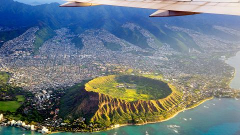 FY8MRT USA, Hawaii, Honolulu, Waikiki, Volcano Diamond Head