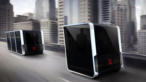 Modular autonomous buses, designed by Next Future Transportation in collaboration with ride hailing company Careem, is just one idea being floated for the emirate.