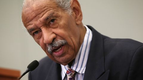 """U.S. Rep. John Conyers (D-MI) speaks at a session during the Congressional Black Caucus Foundation's 45th annual legislative conference September 18, 2015 in Washington, DC. Rep. Conyers spoke during a discussion on """"Judiciary BrainTrust: In Pursuit of Policing and Criminal Justice Reform"""""""