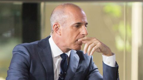 TODAY -- Pictured: Matt Lauer on Friday, June 30, 2017 -- (Photo by: Nathan Congleton/NBC/NBCU Photo Bank via Getty Images)