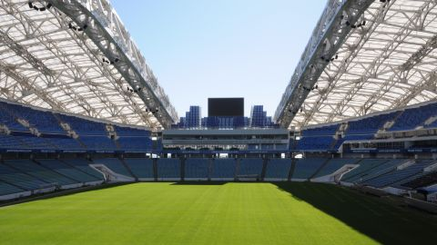 The Fisht Stadium held the opening and closing ceremonies of the 2014 Winter Olympics and is already well-equipped for the demands of a major international football tournament.