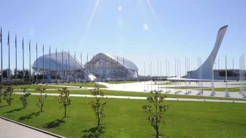 Named after Mount Fisht, a peak in the nearby Caucasus mountain range, the arena's roof was designed to resemble a snow-capped summit.