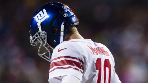 Quarterback Eli Manning turns 37 on January 3.