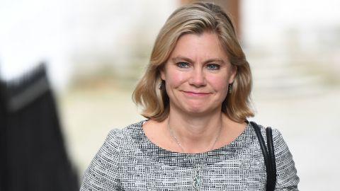 UK cabinet minister Justine Greening