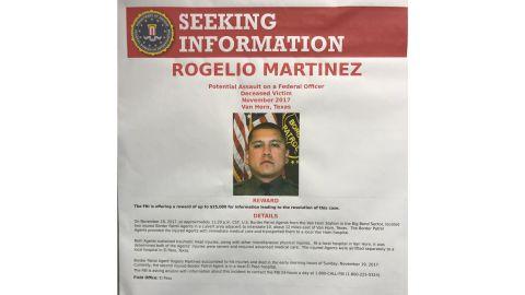 The FBI is seeking information on potential assault of Rogelio Martinez.