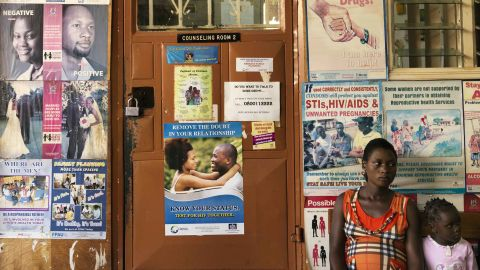 Naguru Teenage Information and Health Centre, where outreach programs provide HIV Testing and condom distribution and inform the community on benefits of knowing your status.