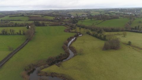 Irish border drone footage