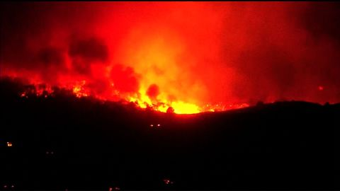 The Lilac Fire has consumed more than 4,000 acres after erupting Thursday in San Diego County.