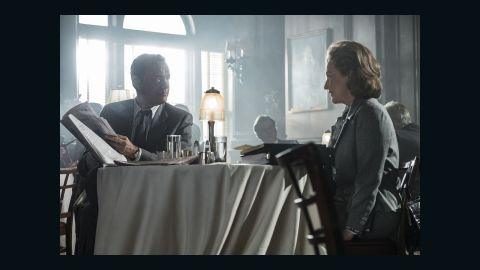 Tom Hanks and Meryl Streep star in Steven Spielberg's 'The Post.' The political story about the publication of the Pentagon Papers scored six nominations, including best drama.