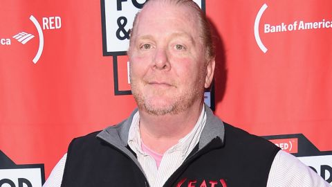 NEW YORK, NY - JUNE 20:  Chef Mario Batali arrives at EAT (RED) Food & Film Fest! at Bryant Park on June 20, 2017 in New York City.  (Photo by Michael Loccisano/Getty Images for (Red))
