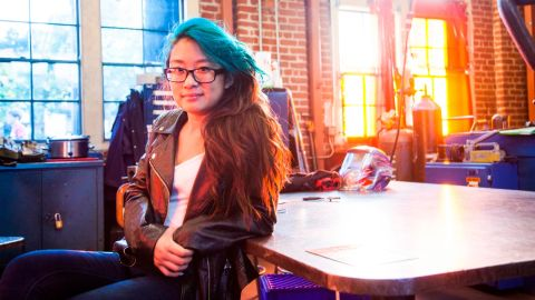 Christina Li is on a mission to bridge the gender gap in STEM fields by empowering and encouraging girls' interests in computer science. <br />In 2015, during her junior year of high school, Christina created Hello World, an annual computer science camp for middle school girls. During the free, weeklong camp -- attended by roughly 30 girls -- Christina teaches web development, programming, app creation and robotics.