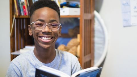 Young Wonder Sidney Keys III. Photographed by CNN Producer Meghan Dunn in Hazelwood, MO (suburb of St. Louis).