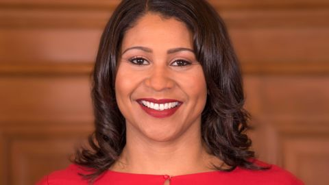 London Breed, president of San Francisco's Board of Supervisors, has become acting mayor.