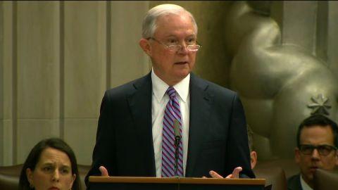AG Sessions, Rosenstein, Gore Civil Rights Ceremony