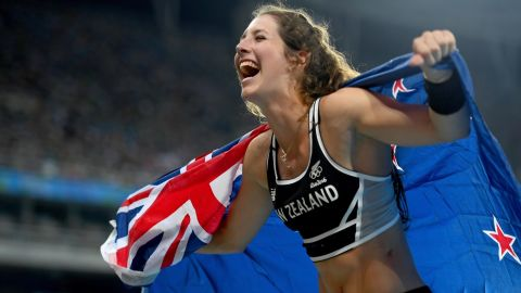 The Kiwi won pole vault bronze at Rio 2016 in her first ever Olympics and, having only recently turned  21, still has her best years ahead of her.