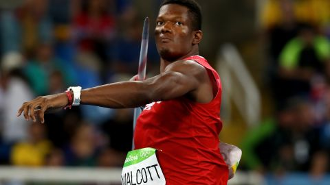 """He may only have taken up the javelin aged 15 but """"Keshie"""" Walcott had won Olympic gold in London before his 20th birthday. He followed up with bronze in Rio."""