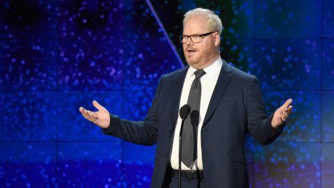 Comedian Jim Gaffigan introduces 2017 CNN Hero Andy Manzi.